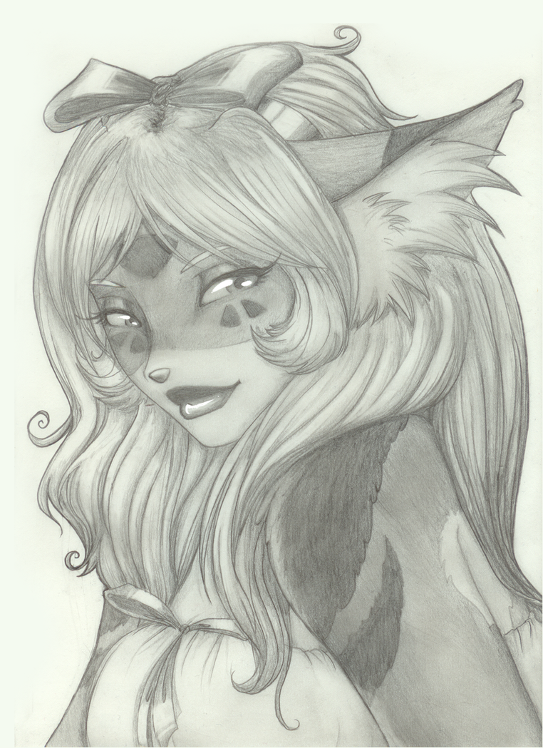 Kera in Pencil by t3h-dyl4n