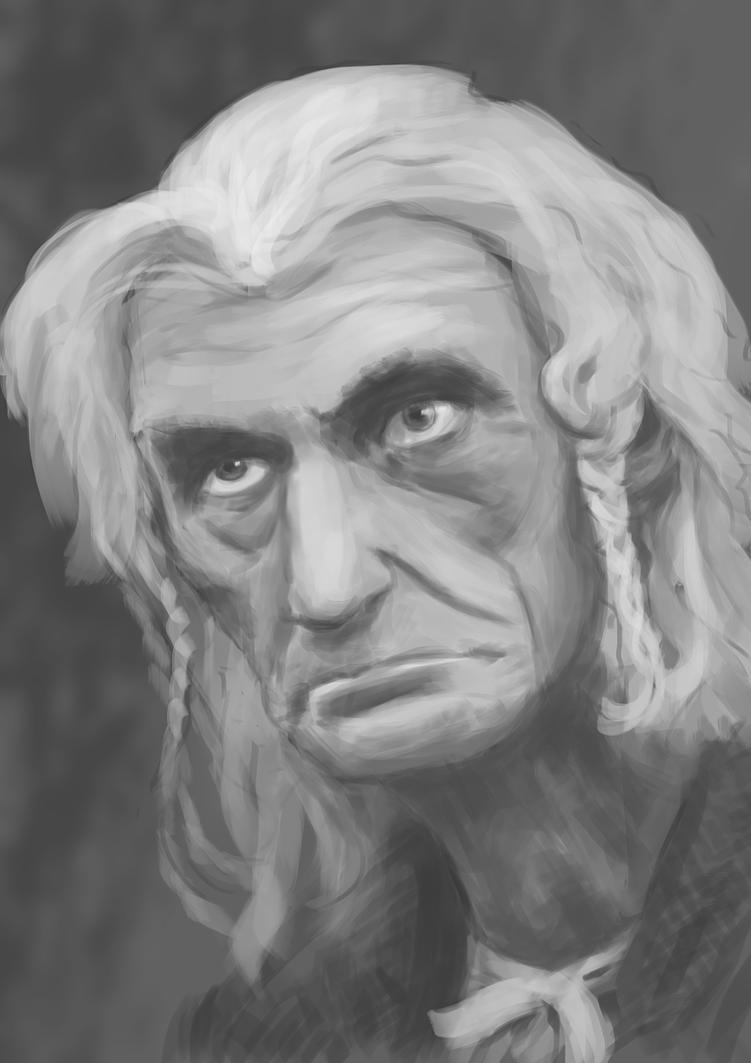 Portrait study of my ancestor by MartinMalek