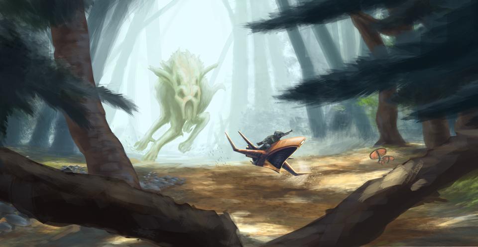 Hunter by MartinMalek