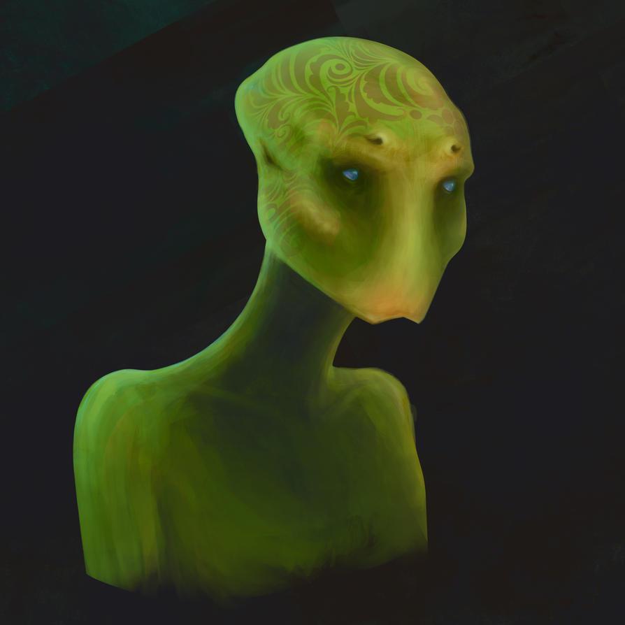 Alien by MartinMalek