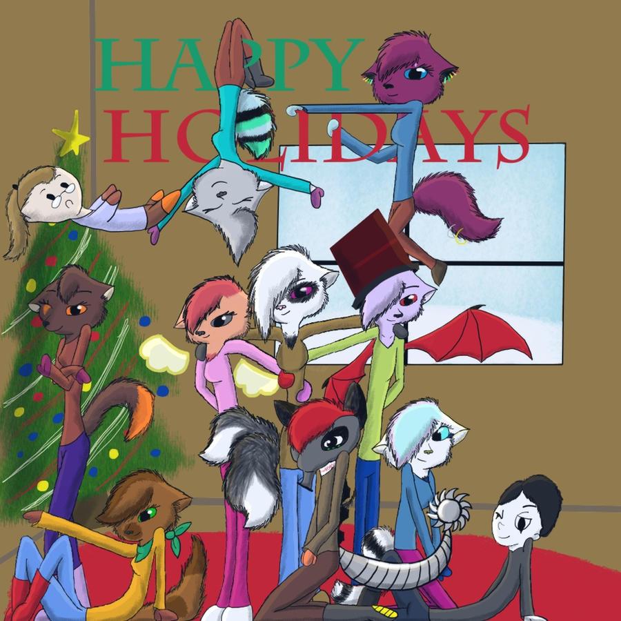 Happy Holidays Everyone by Lookiosushi