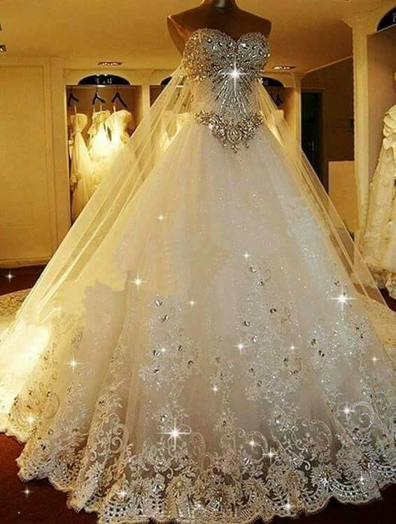 Sparkly wedding dress by anjumaakavampire on deviantart for Cheap wedding dresses cape town