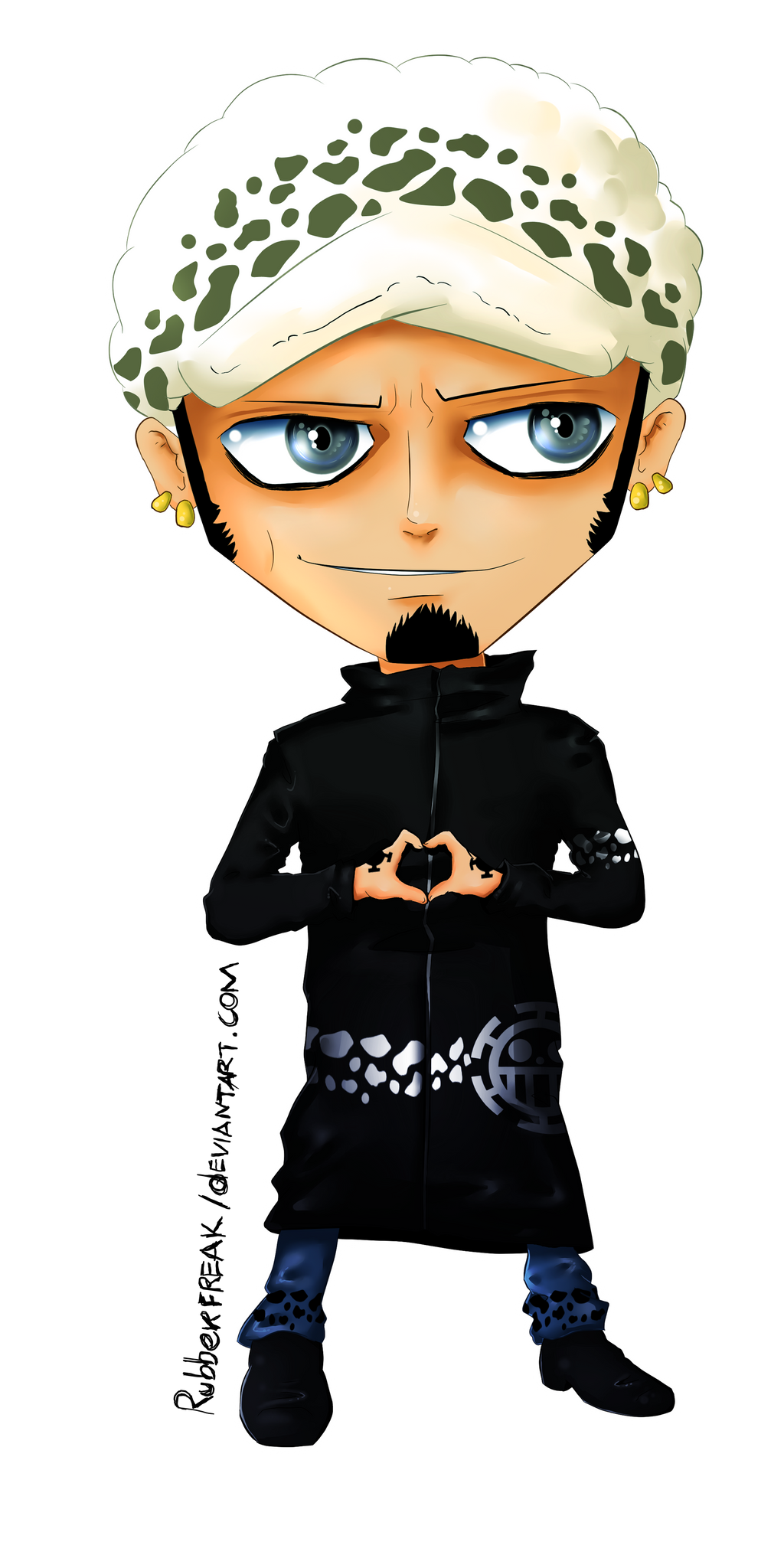 Trafalgar Law by Rubberfreak on DeviantArt