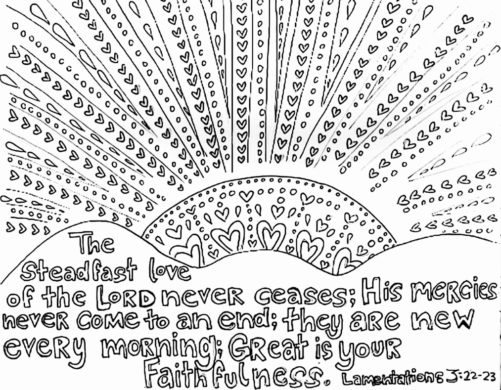Bible Verse Coloring Page 05 By Tnlizzy On DeviantArt