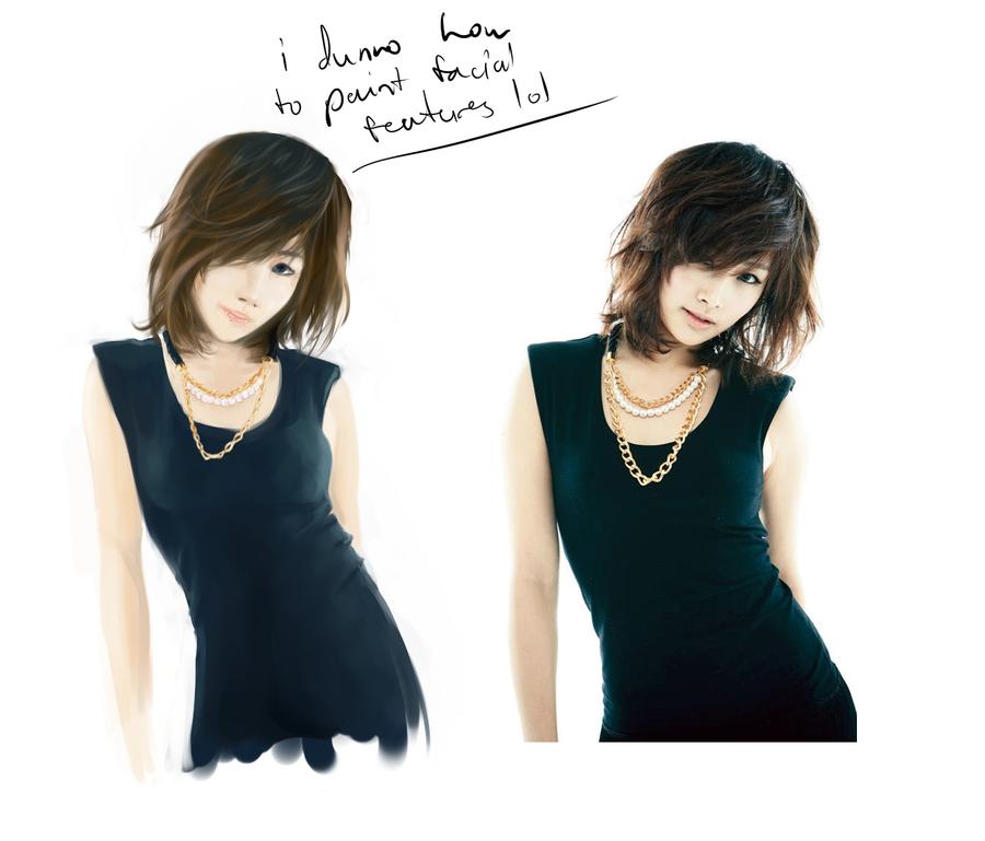 lol how do i paint face? by Kouji-han