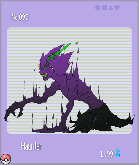 Pokemon Thingy - Haunter by Kouji-han