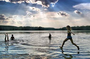 Water walk II by Chris-Lamprianidis