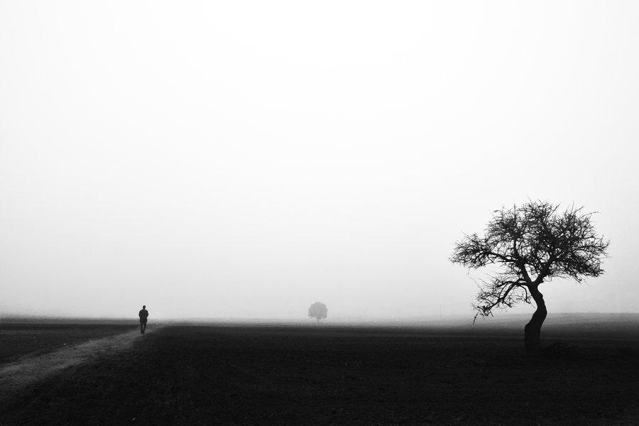 Walk alone by Chris-La...