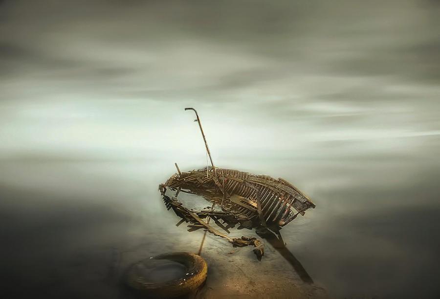 Shipwreck by Chris-Lamprianidis
