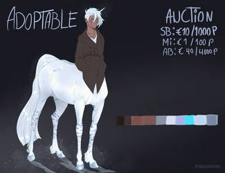 Winter Unicorn Adopt CLOSED by PrinceCorvus
