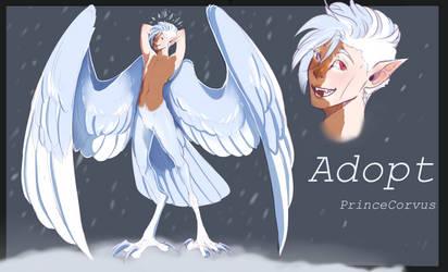 Harpy Adoptable CLOSED by PrinceCorvus