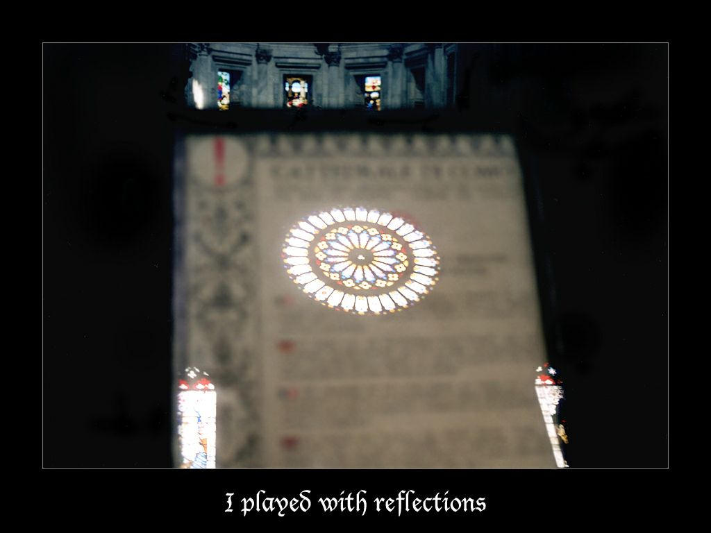 I played with reflections by morganaarau