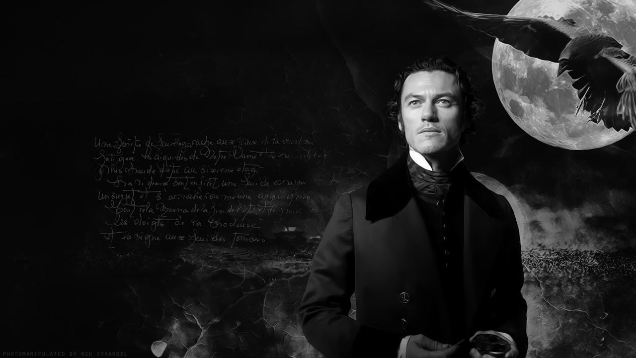Luke Evans Dracula Wallpaper