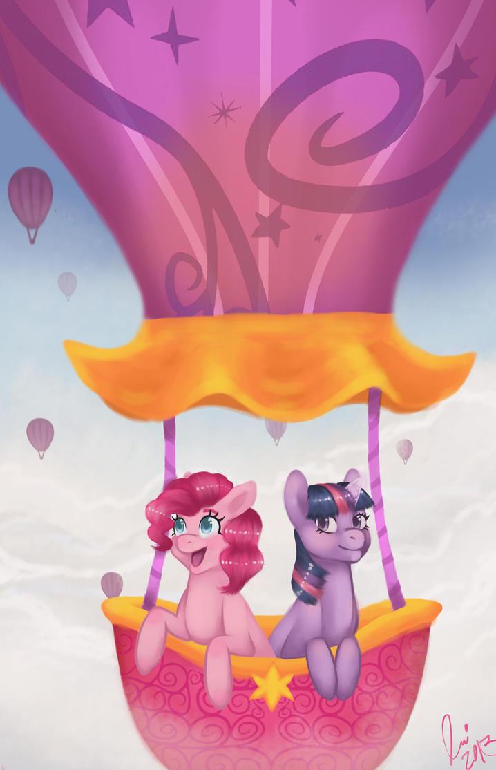 A balloon ride by Endytar