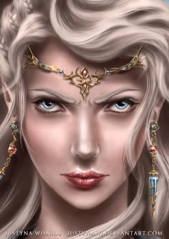 ayreen face close up