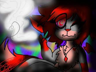 Smoke it away by xXCherryFoxxXx