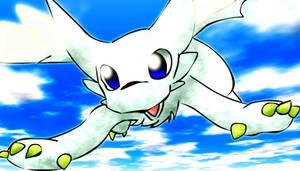 Chibisuke Flying...yay