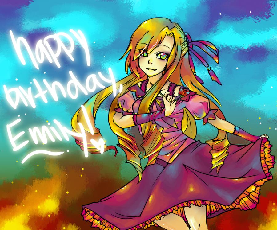 Happy Birthday, Emily by Paipuru