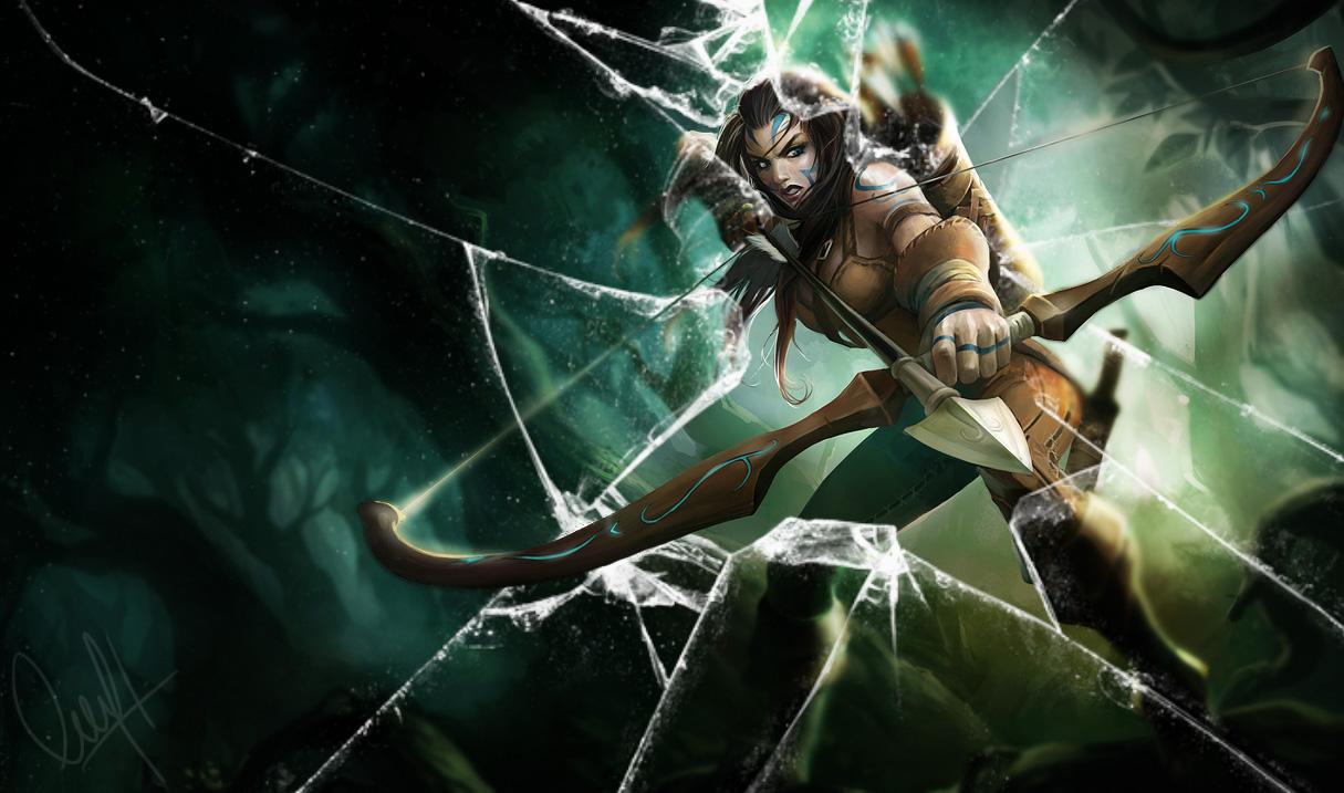 Ashe de la tribu woad ...