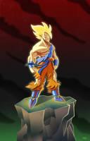 SSJ Goku by PaDubs
