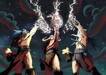 Gods of metal by PaDubs