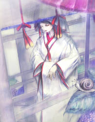 Shinto_bride by morinohiro
