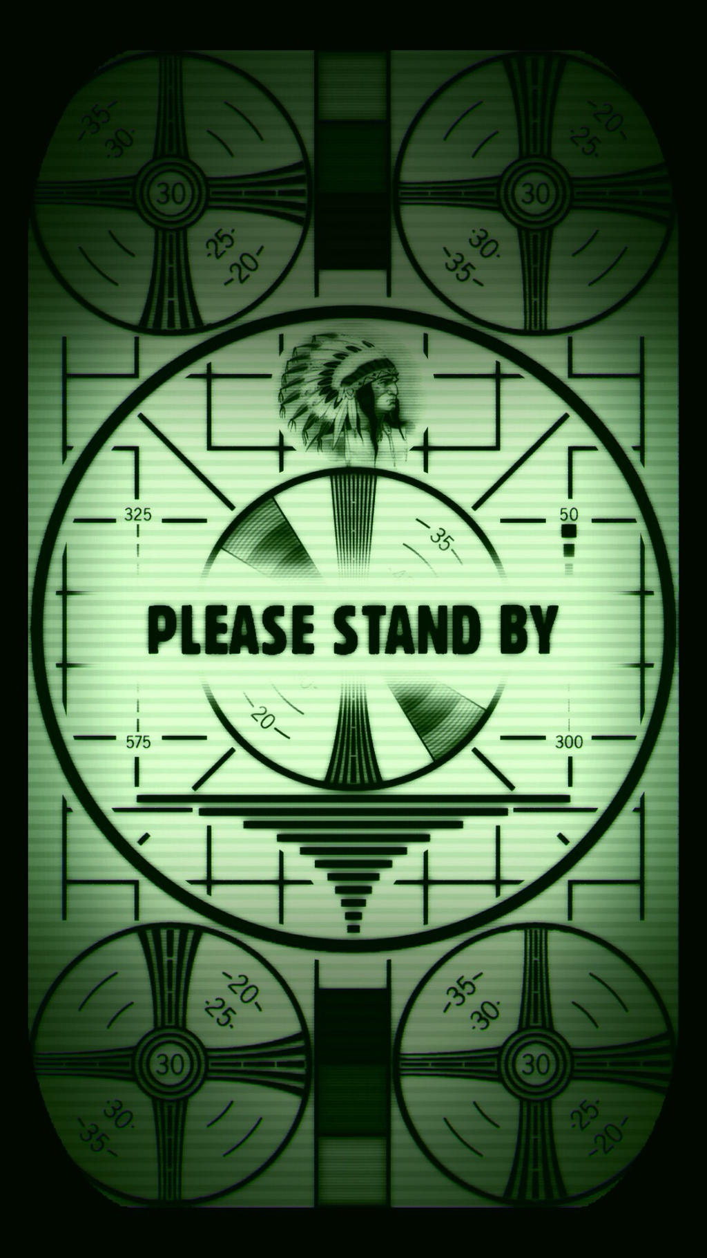 Fallout Please Stand By IPhone 5 6 Lock Screen Smills8