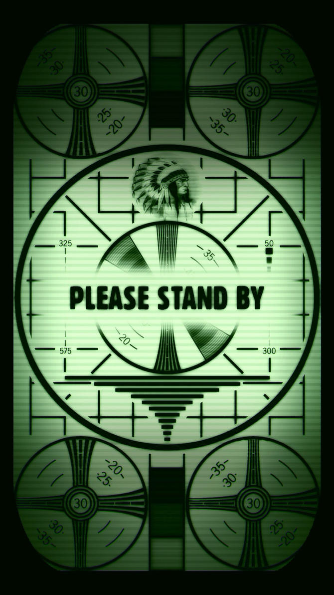 Fallout please stand by iphone 56 lock screen by smills8 on fallout please stand by iphone 56 lock screen by smills8 biocorpaavc