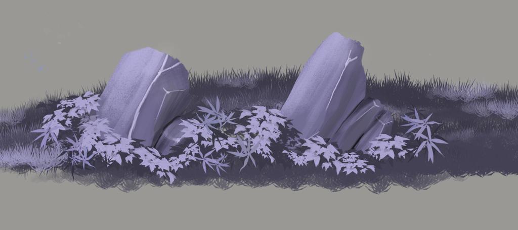 Etude de rochers by WhityRavy