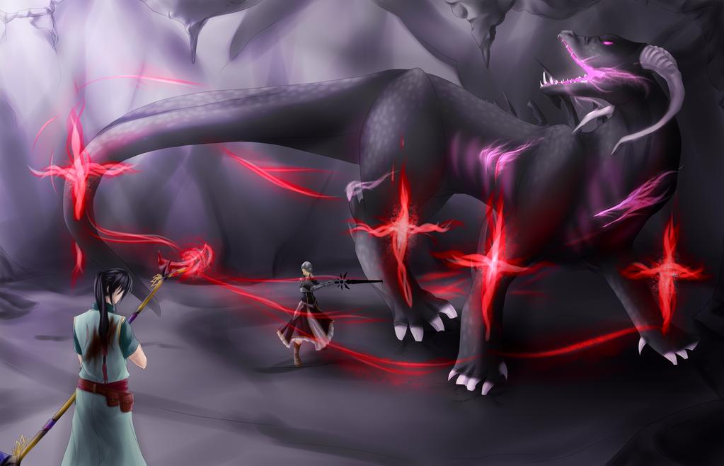 The Final Battle by Youkai-Meimi