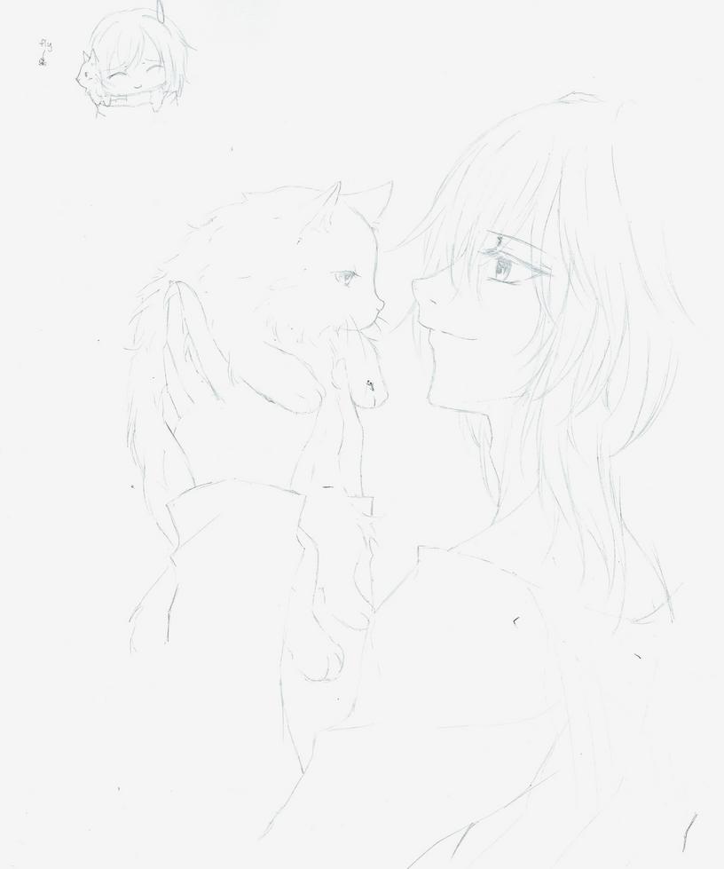 Illegib Sketch by Youkai-Meimi