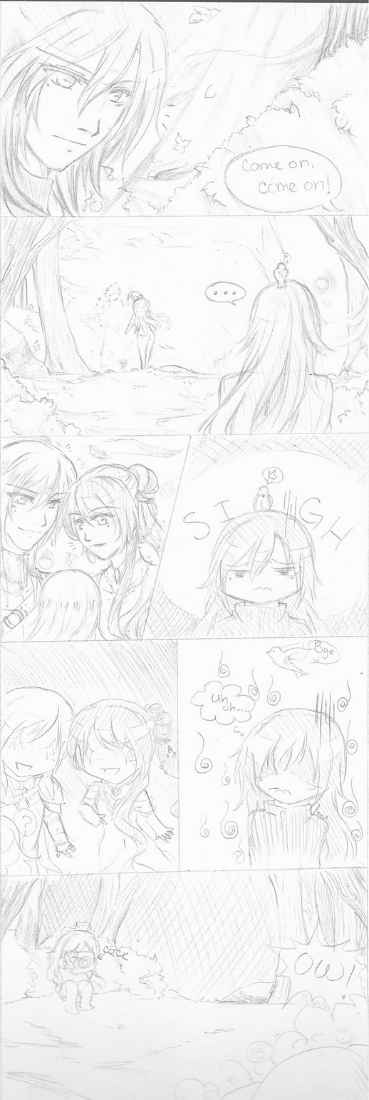 AB: Adrian, Sibs and Luna by Youkai-Meimi