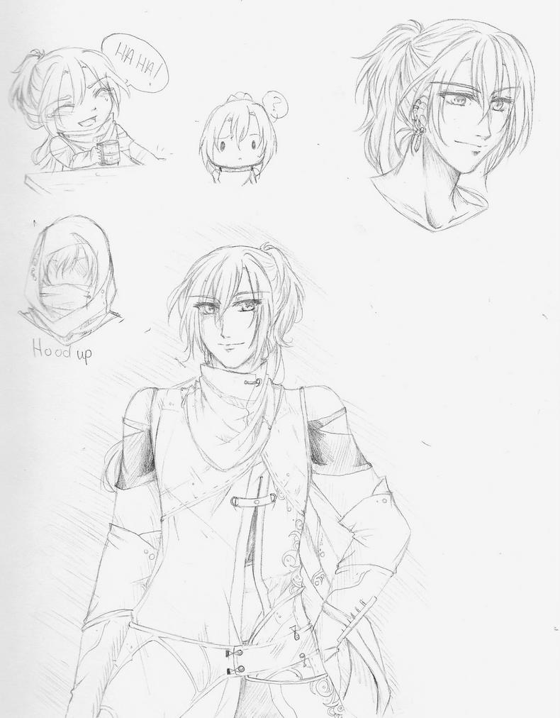AA: Sketches by Youkai-Meimi