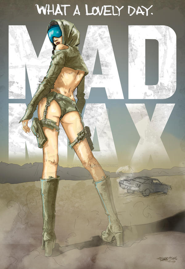 MAD MAX - Sara by tchang-tsung