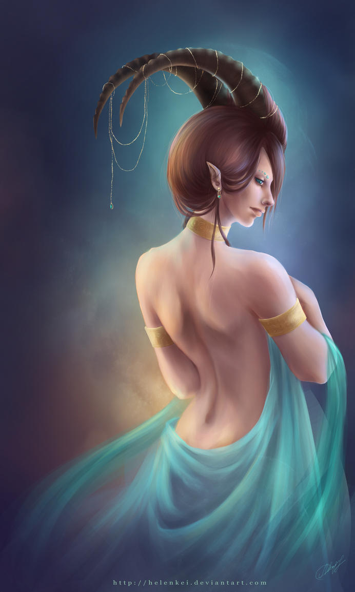 Capricorn by HelenKei