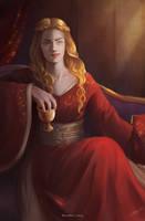 Lioness by HelenKei