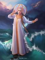 Princess-Swan by HelenKei