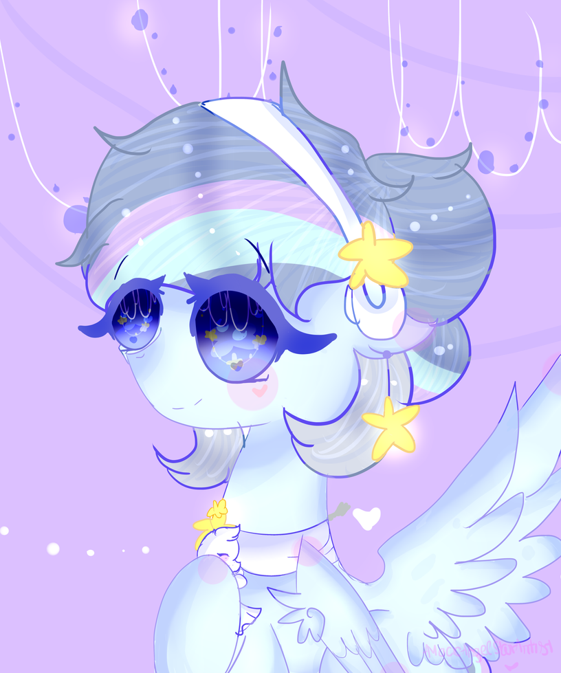 Redraw/gift- Sparkle by MagicAngelStarArtist