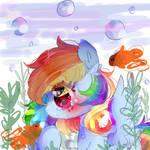 Rainbow Fish-Redraw