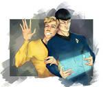 Spirk Star Trek by HyDjinn