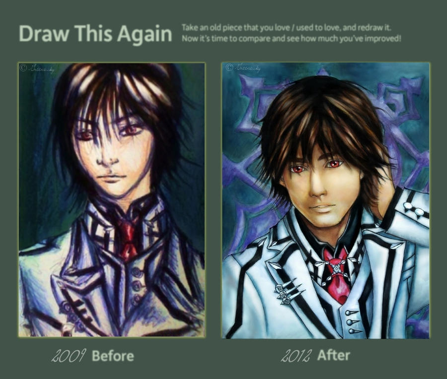 Draw This Again-Kaname by Greenticky
