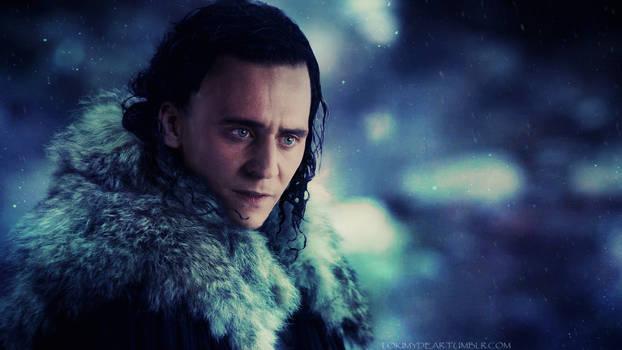 Loki in Fur