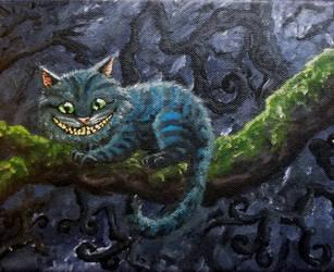 Cheshire cat by susmishious