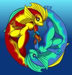 Dance of Pisces by Jo-Vee-Al