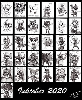 Inktober 2020 Collection
