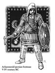 Persian foot soldier