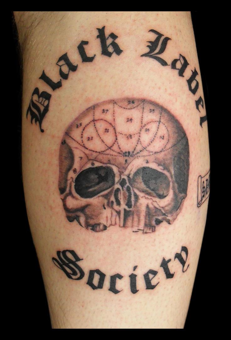 black label society tattoo by jasonhanks on deviantart