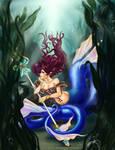 .Commission: Lady Sea Serpent.