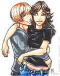 .Commission. Couple A.