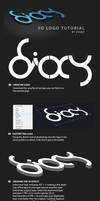 Dioxy 3D logo tutorial